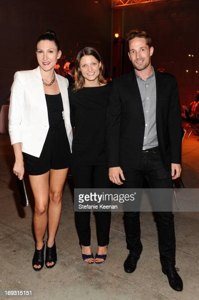 Sarah Jane Bruce, Abby Bangser and Andrew Luft attend ...