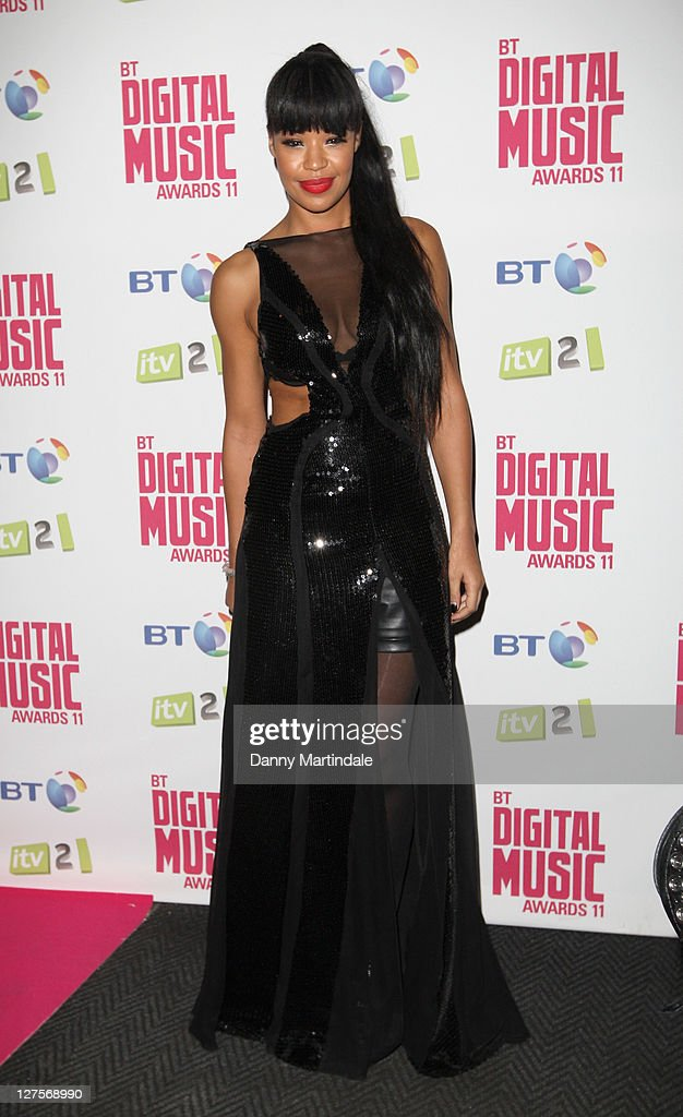 Sarah Jane Crowford attends BT Digital Music Awards at The Roundhouse on September 29, 2011 in London, England.