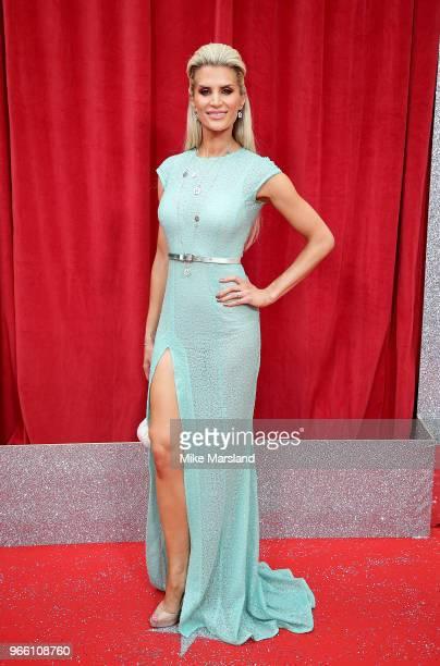 Sarah Jayne Dunn attends the British Soap Awards 2018 at Hackney Empire on June 2 2018 in London England