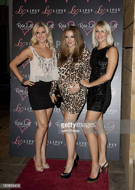 Sarah Jayne Dunn Jodi Albert And Ali Bastion Attend The Launch Party For Her New Lipsy Collection At Public In Chelsea West London