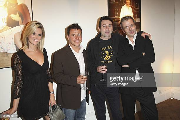 Sarah Jayne DunnCraig Phillips Sean Hughes and Jason Fraser attend the launch of the 2008 Pdsa Calendar 'Pawtraits of Celebrities and Their Pets...