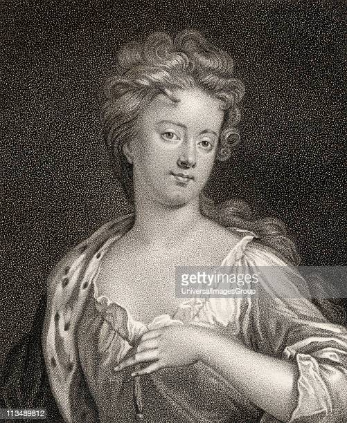 Sarah Jennings Duchess of Marlborough aka Countess of Marlborough 1660 1744 Wife of 1st Duke of Marlborough Engraved by Bocquet from the book A...