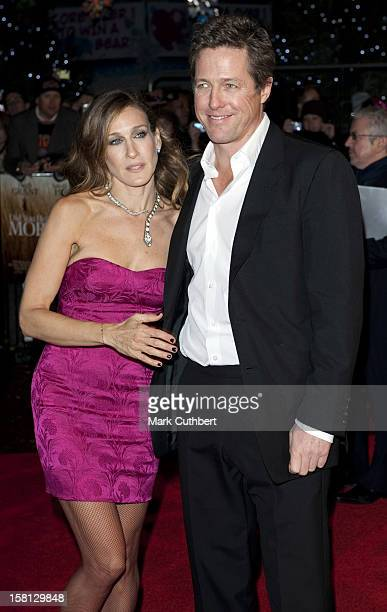 Sarah Jessica Parker And Hugh Grant Arriving For The Gala Premiere Of Did You Hear About The Morgans At The Odeon In Leicester Square London