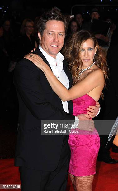 Sarah Jessica Parker and Hugh Grant attend the premiere of Did You Hear About The Morgans at Odeon Leicester Square