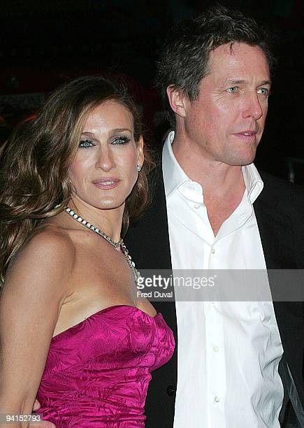 Sarah Jessica Parker and Hugh Grant attends the Gala Premiere of Did You Hear About The Morgans at Odeon Leicester Square on December 8 2009 in...