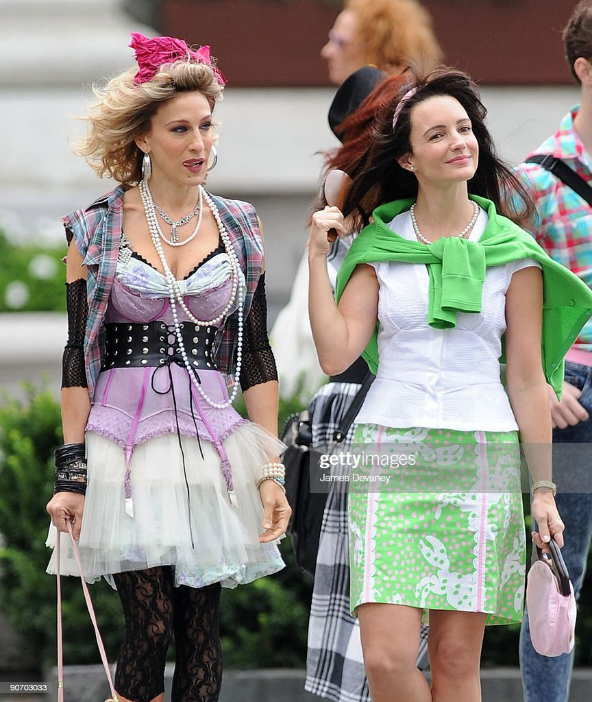 """On Location For """"Sex And The City 2"""" - September 9, 2009 : News Photo"""
