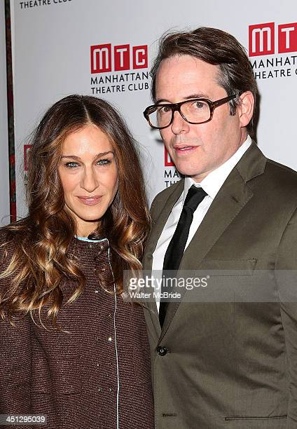 Sarah Jessica Parker and Matthew Broderick attend the 'The Commons Of Pensacola' opening night after party>> at Brasserie 8 1/2 on November 21 2013...