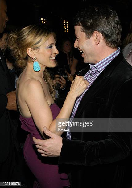 Sarah Jessica Parker and Matthew Broderick during 'Sex and the City' Sixth Season Premiere After Party at American Museum of Natural History in New...