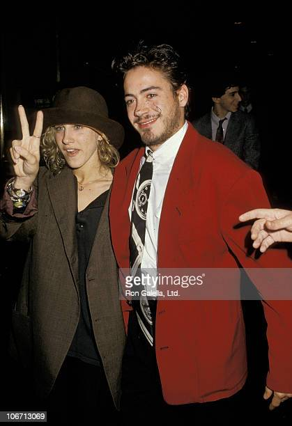 Sarah Jessica Parker and Robert Downey Jr during Sarah Jessica Parker and Robert Downey Jr Depart 'Saturday Night Live' October 24 1987 at NBC TV...