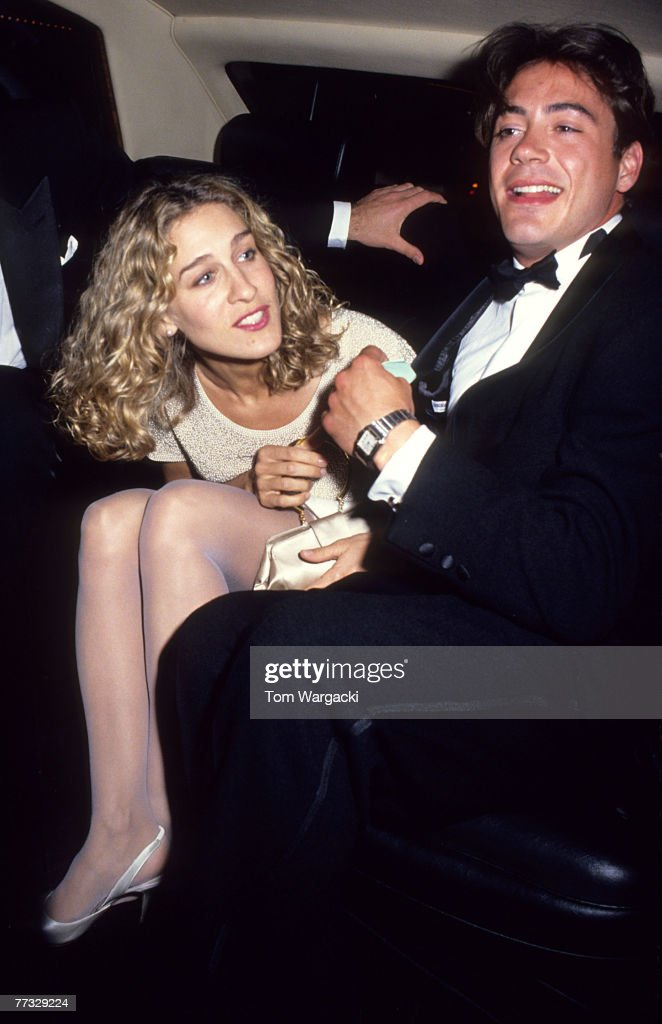 "Sarah Jessica Parker and Robert Downey at the ""L.A. Story"" London Premiere"