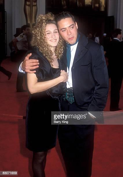 Sarah Jessica Parker and Robert Downey Jr