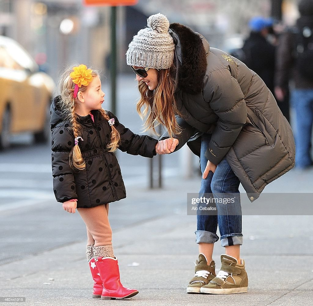 Celebrity Sightings In New York City - January 13, 2014