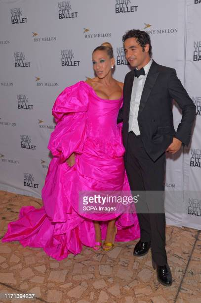 Sarah Jessica Parker and Zac Posen attend the 8th Annual New York City Ballet Fall Fashion Gala at David H Koch Theater Lincoln Center