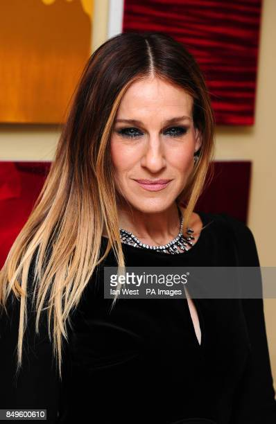 Sarah Jessica Parker arrives at the BAFTA afterparty held at the Grosvenor Hotel in London