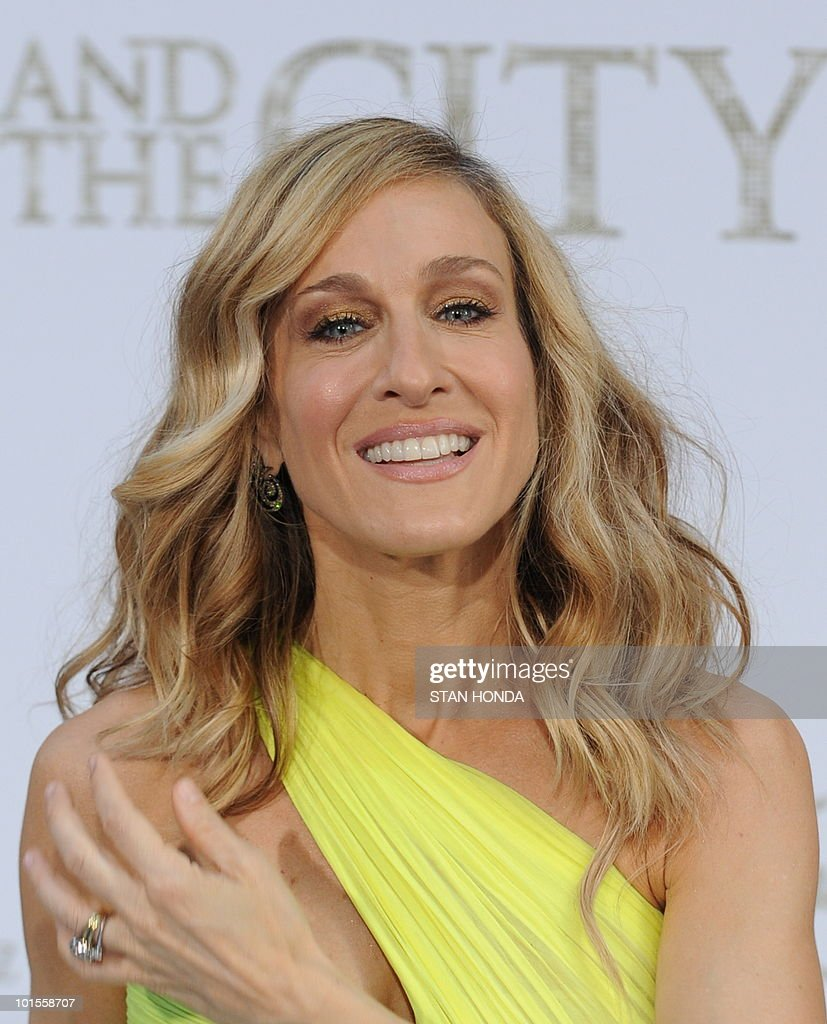 Sarah Jessica Parker arrives at the world premiere of the movie �Sex and the City 2� May 24, 2010 at Radio City Music Hall in New York. AFP PHOTO/Stan Honda