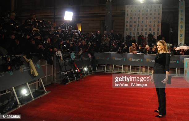 Sarah Jessica Parker arriving for the 2013 British Academy Film Awards at the Royal Opera House Bow Street London