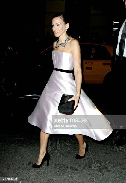 Sarah Jessica Parker at the Brooks Atkinson Theater in New York City, New York