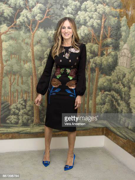 Sarah Jessica Parker at the Divorce Press Conference at the London Hotel on December 4 2017 in New York City