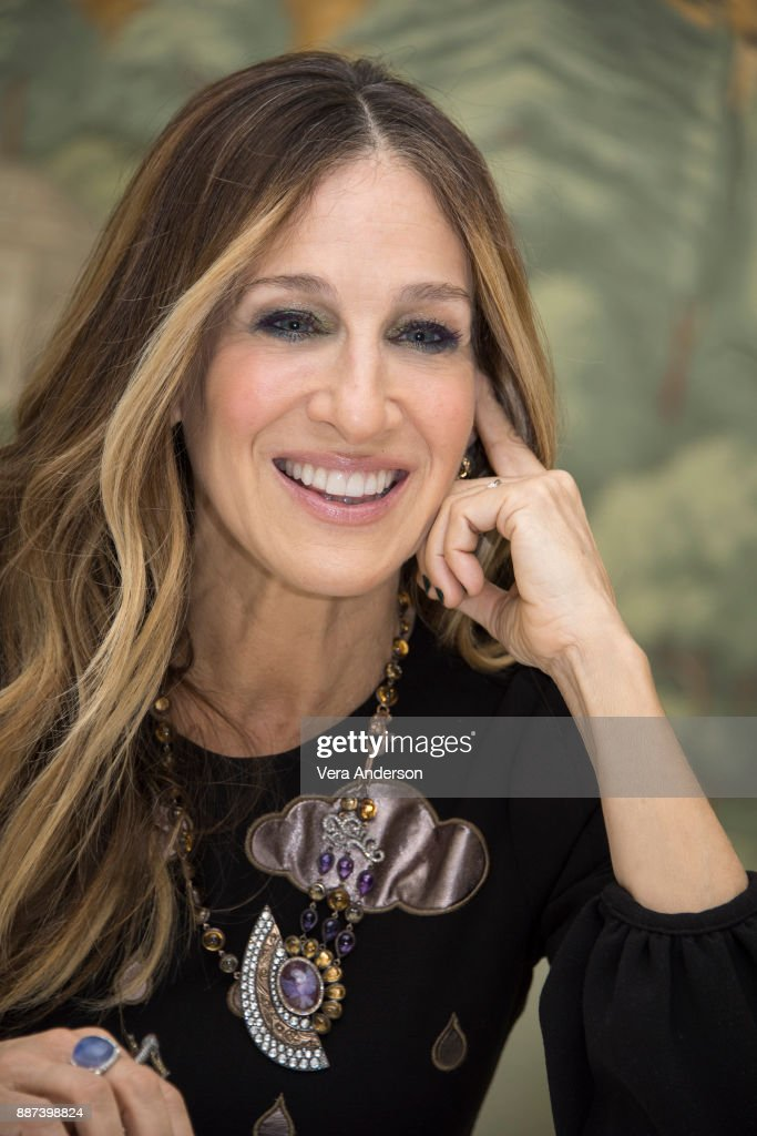 Sarah Jessica Parker at the 'Divorce' Press Conference at the London Hotel on December 4, 2017 in New York City