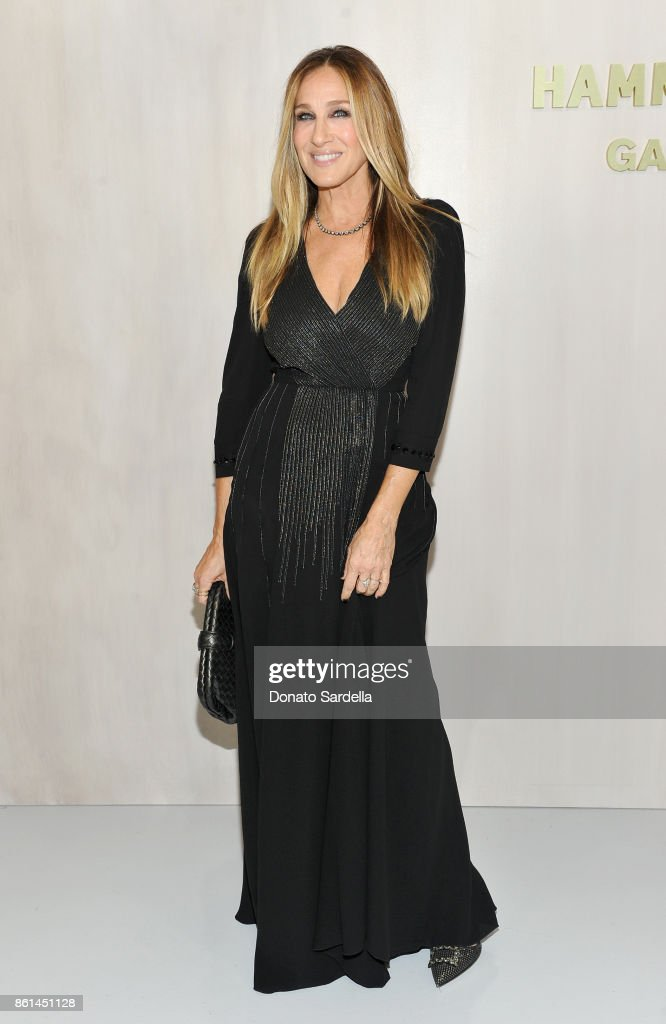 Sarah Jessica Parker at the Hammer Museum 15th Annual Gala in the Garden with Generous Support from Bottega Veneta on October 14, 2017 in Los Angeles, California.