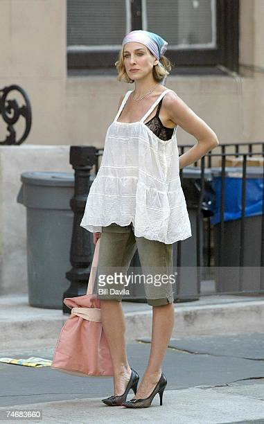Sarah Jessica Parker at the Manhattan in New York City New York