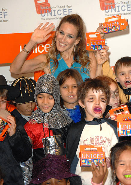 sarah jessica parker at the sarah jessica parker hosts unicef halloween party october 25
