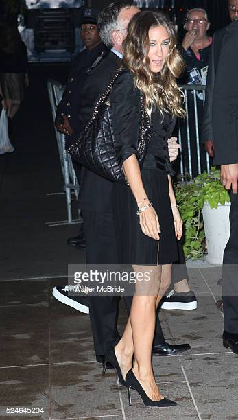 Sarah Jessica Parker attending the Memorial To Honor Marvin Hamlisch at the Peter Jay Sharp Theater in New York City on 9/18/2012
