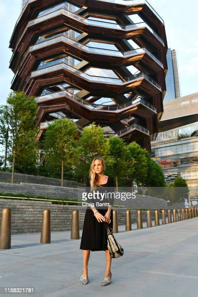 Sarah Jessica Parker attends A Magical Summer Night At Hudson Yards Celebrating The Lifestyle Of 35 Hudson Yards on June 25 2019 in New York City