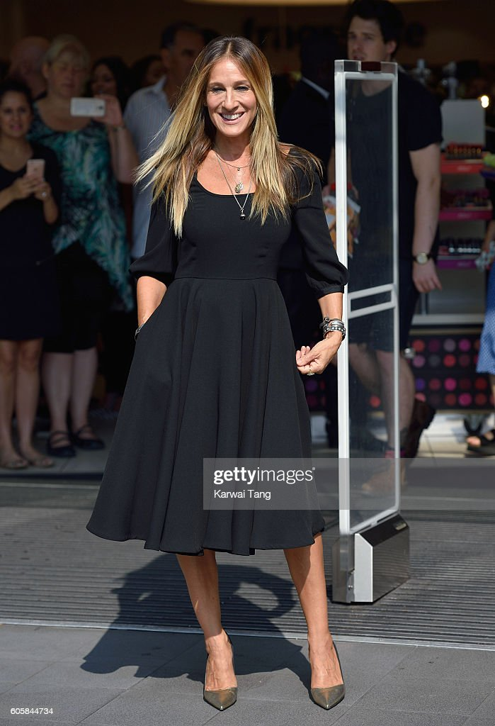 Sarah Jessica Parker Launches New Fragrance 'Stash' : News Photo