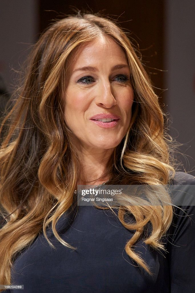 Sarah Jessica Parker attends a press conference ahead of the Nobel Peace Prize Concert at Radisson Blu Plaza Hotel on December 11, 2012 in Oslo, Norway.