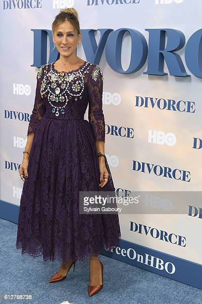 Sarah Jessica Parker attends HBO Presents the New York Red Carpet Premiere of Divorce at SVA Theater on October 4 2016 in New York City
