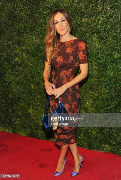 Sarah Jessica Parker attends HBO's In Vogue The Editor's Eye screening at Metropolitan Museum of Art on December 4 2012 in New York City