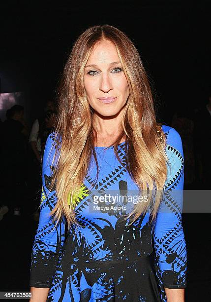Sarah Jessica Parker attends Lexus Design Disrupted Gareth Pugh during MADE Fashion Spring 2015 at Pier 36 on September 4 2014 in New York City