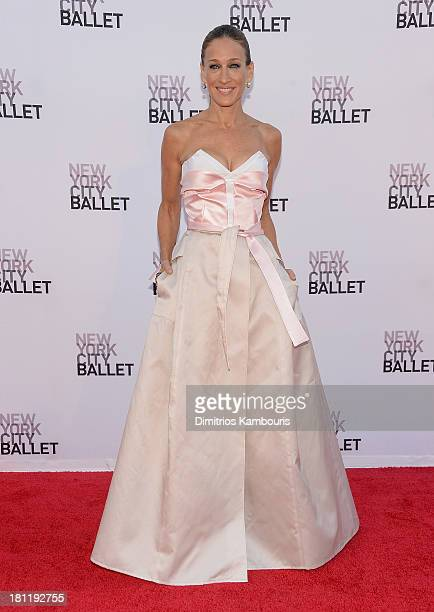 Sarah Jessica Parker attends New York City Ballet 2013 Fall Gala at David H. Koch Theater, Lincoln Center on September 19, 2013 in New York City.