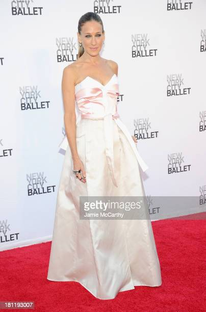 Sarah Jessica Parker attends New York City Ballet 2013 Fall Gala at David H Koch Theater Lincoln Center on September 19 2013 in New York City