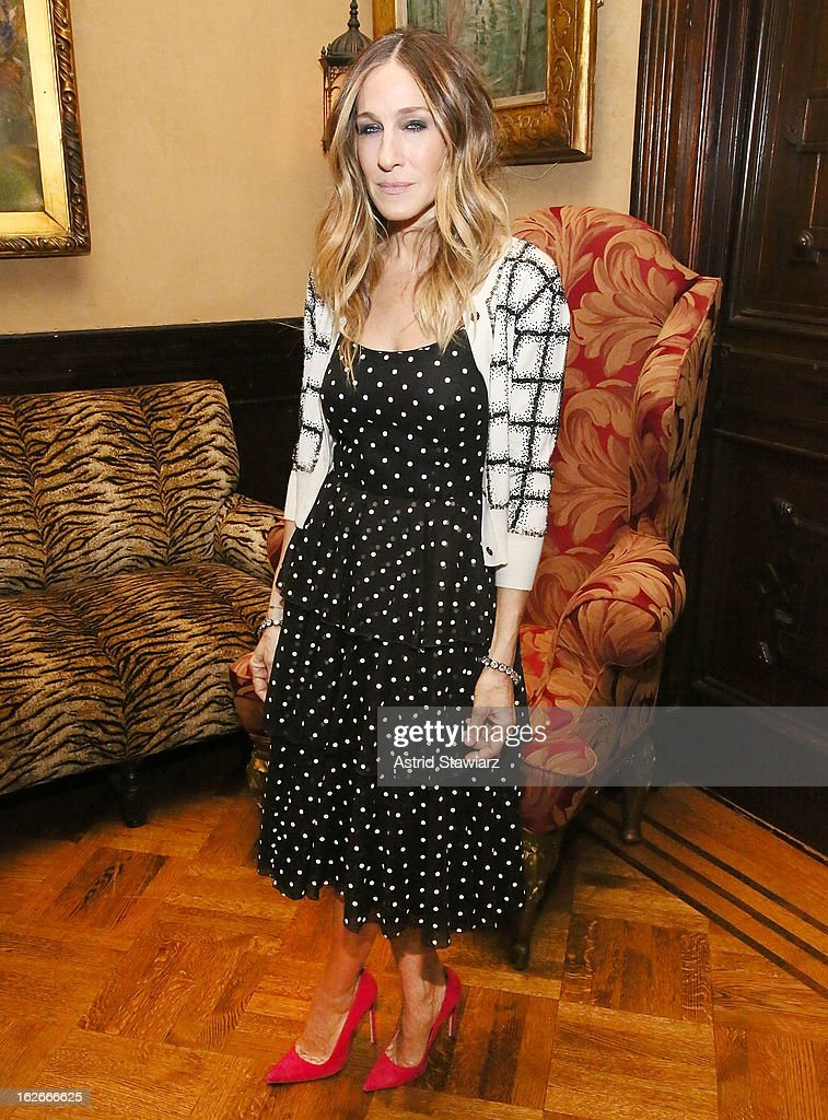 Sarah Jessica Parker attends the 10th Annual Love 'N' Courage Benefit For TNC's Emerging Playwrights Program at The National Arts Club on February 25, 2013 in New York City.