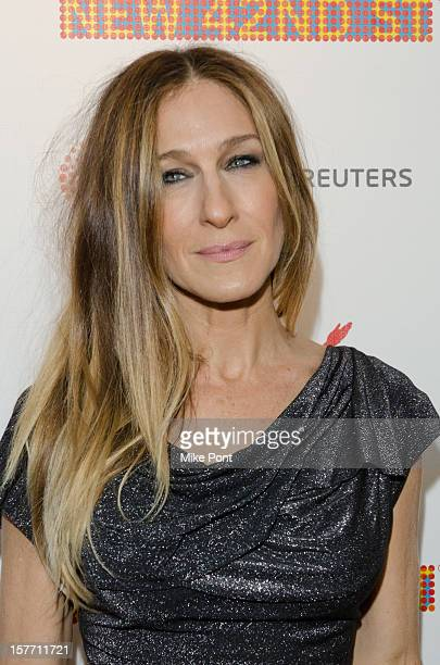 Sarah Jessica Parker attends the 2012 New 42nd Street gala at The New Victory Theater on December 5 2012 in New York City