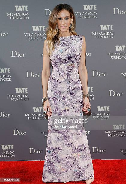 Sarah Jessica Parker attends the 2013 Tate Americas Foundation Artists Dinner at Skylight Studios at Moynihan Station on May 8 2013 in New York City