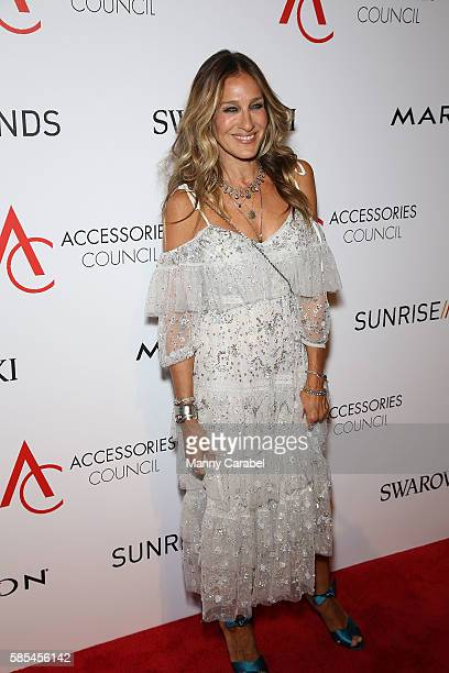 Sarah Jessica Parker attends the 2016 Accessories Council 20th Anniversary ACE Awards at Cipriani 42nd Street on August 2 2016 in New York City