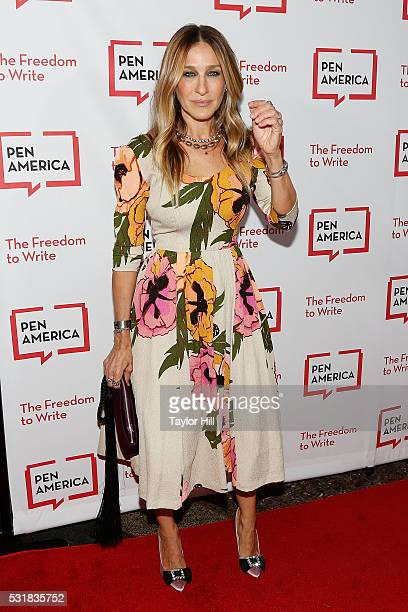 Sarah Jessica Parker attends the 2016 PEN America Literary Gala at the American Museum of Natural History on May 16 2016 in New York New York