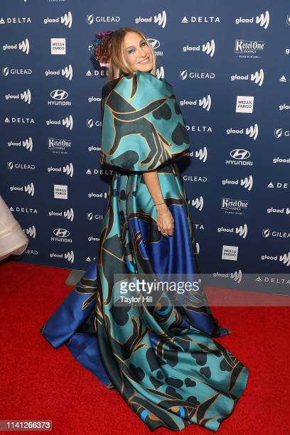 Sarah Jessica Parker attends the 30th Annual GLAAD Media Awards at New York Hilton Midtown on May 4 2019 in New York City