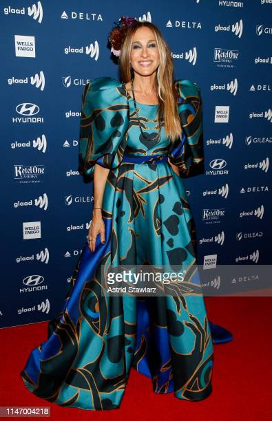 Sarah Jessica Parker attends the 30th Annual GLAAD Media Awards in partnership with Ketel One FamilyMade Vodka longstanding ally of the LGBTQ...