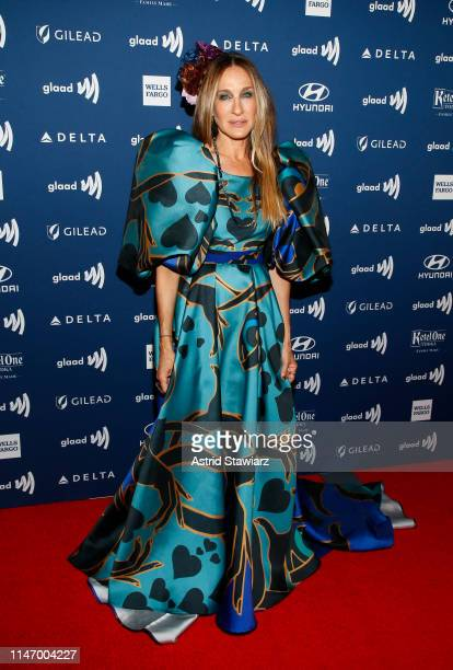 Sarah Jessica Parker attends the 30th Annual GLAAD Media Awards in partnership with Ketel One Family-Made Vodka, longstanding ally of the LGBTQ...