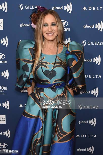 Sarah Jessica Parker attends the 30th Annual GLAAD Media Awards New York at New York Hilton Midtown on May 04 2019 in New York City