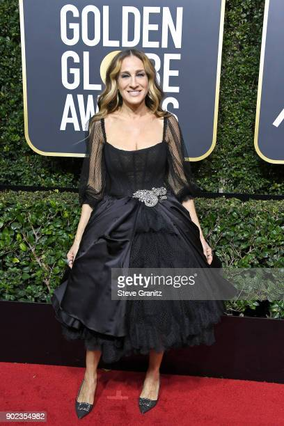 Sarah Jessica Parker attends The 75th Annual Golden Globe Awards at The Beverly Hilton Hotel on January 7 2018 in Beverly Hills California