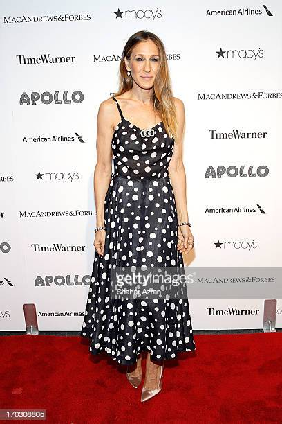 Sarah Jessica Parker attends the 8th annual Apollo Theater Spring Gala Concert at The Apollo Theater on June 10 2013 in New York City