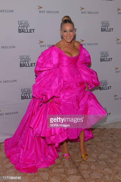 Sarah Jessica Parker attends the 8th Annual New York City Ballet Fall Fashion Gala at David H Koch Theater Lincoln Center