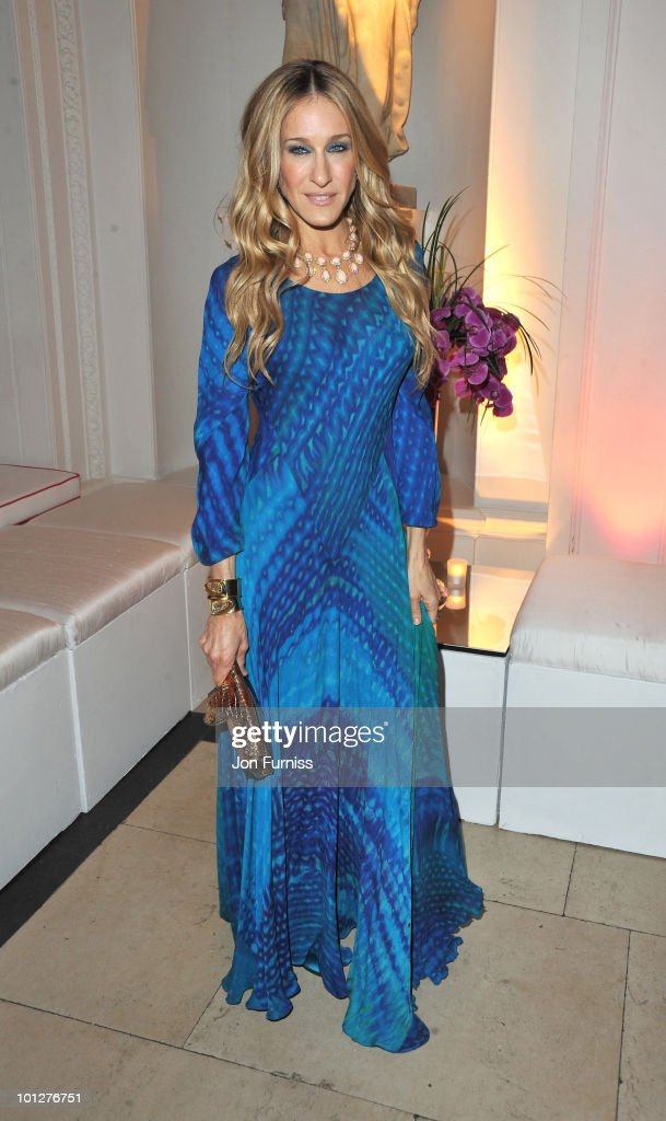 Sarah Jessica Parker attends the afterparty for 'Sex And The City 2' at Kensington Palace on May 27, 2010 in London, England.