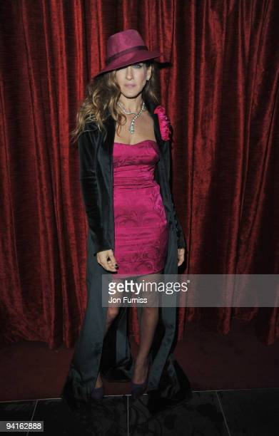 Sarah Jessica Parker attends the afterparty for the Gala Premiere of 'Did You Hear About The Morgans' at Aqua on December 8 2009 in London England