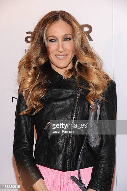 Sarah Jessica Parker attends the amfAR New York Gala To Kick Off Fall 2012 Fashion Week Presented By Hublot at Cipriani Wall Street on February 8,...